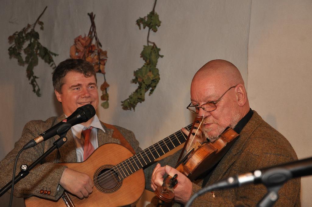2009-11-21 julkonsert med Axel Falk