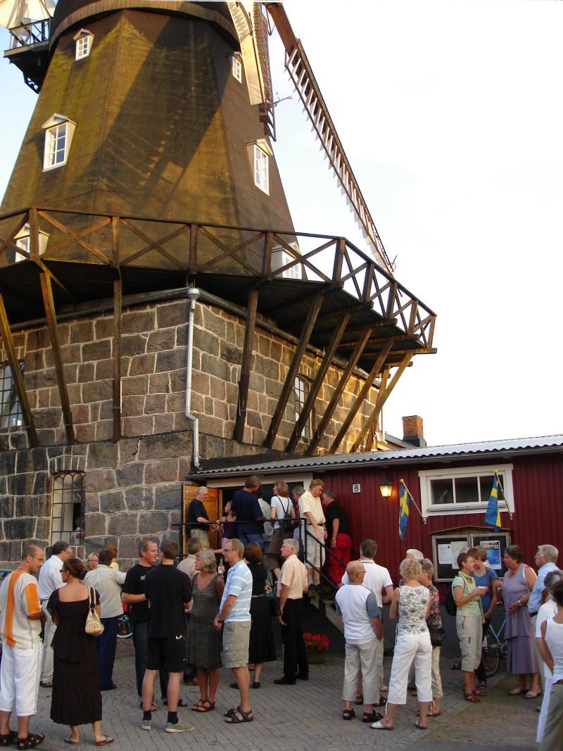 besökare i kvarnen 2006