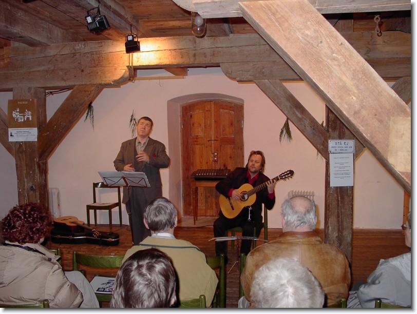 Axel Falk i Harplinge kvarn 2005
