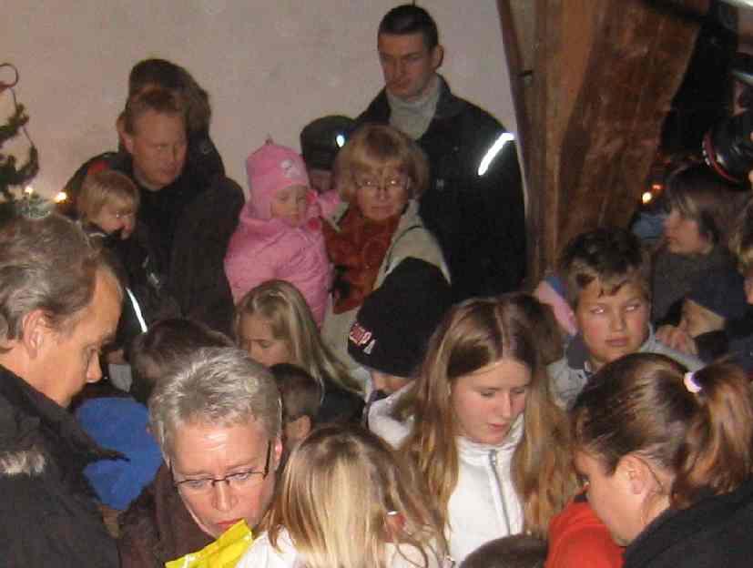 2005-12-04 julskyltningsdagen i kvarnen
