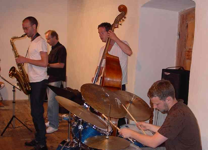 Nils Berg kvartett i kvarnen