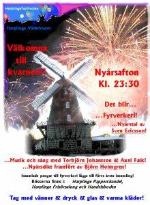 Affisch för nyårsfirande 2005