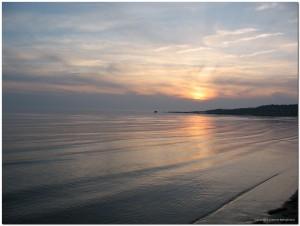 Haverdal sunset